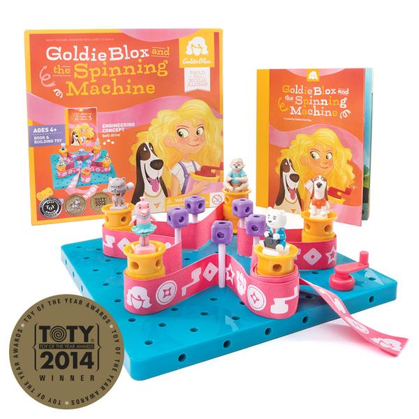 GoldieBlox and the Spinning Machine